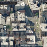 Bleecker & Christopher Streets / Bing Aerial View