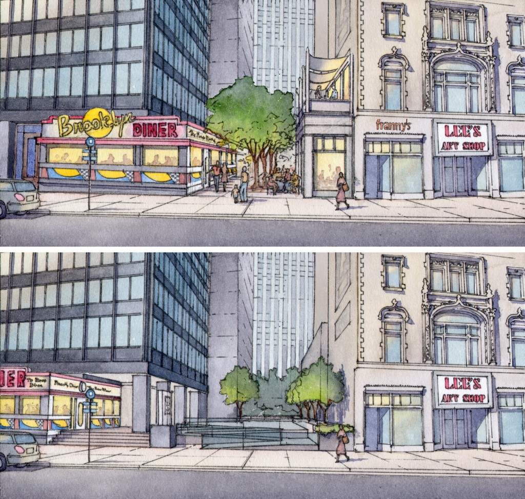Winslow Homer Walk Before & After / ©2012 Massengale & Co LLC and Dover, Kohl & Partners